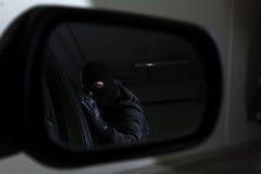 Ladrón de coche imagen de archivo