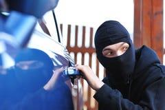 Ladrón de coche Fotos de archivo libres de regalías
