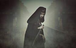 Ladrón de la fantasía en la niebla Imagen de archivo libre de regalías