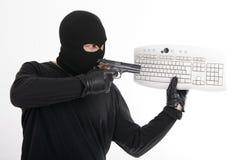 Ladrón de la identidad Imagen de archivo libre de regalías