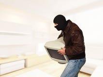 Ladrón en casa Fotografía de archivo libre de regalías