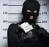 Ladrón reventado. imágenes de archivo libres de regalías
