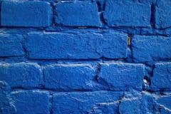 Ladrillo azul Fotografía de archivo