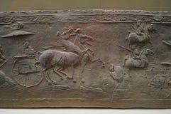 Ladrillo de Han Dynasty del chino fotografía de archivo libre de regalías