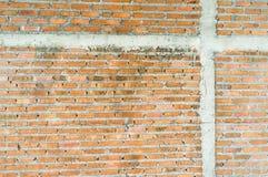 Ladrillo de la albañilería de la pared Imágenes de archivo libres de regalías