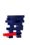 Ladrillo de madera de la huida imagen de archivo