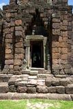 Ladrillo del castillo de la piedra de Phimai Fotografía de archivo libre de regalías