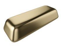 Ladrillo del oro Imagen de archivo libre de regalías