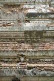 Ladrillo del vintage y fondo del cemento Imágenes de archivo libres de regalías