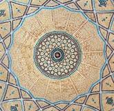 Ladrillo dentro de la bóveda de la mezquita Imagen de archivo