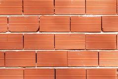 Ladrillo-pared Imagenes de archivo