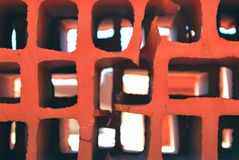 Ladrillo rojo Fotos de archivo libres de regalías