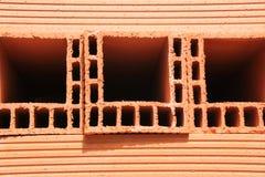 Ladrillo rojo de la casa Foto de archivo