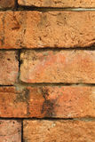Ladrillo viejo de la textura del fondo resistido Fotografía de archivo