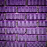 Ladrillo violeta Fotos de archivo