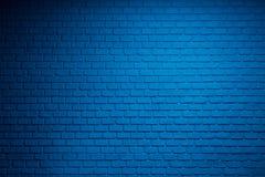 Ladrillos azules fotos de archivo