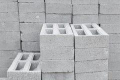 Ladrillos concretos Imagenes de archivo