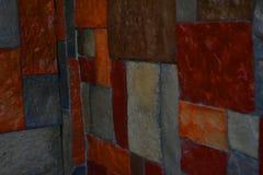 Ladrillos de la pared fotos de archivo