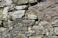Ladrillos de la piedra caliza Imágenes de archivo libres de regalías