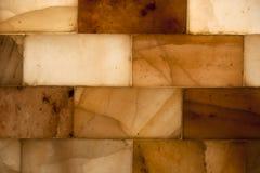 Ladrillos de la sal Fotos de archivo libres de regalías