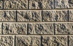 Ladrillos de la textura del muro de cemento Foto de archivo libre de regalías