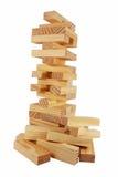 Ladrillos de madera Imagen de archivo