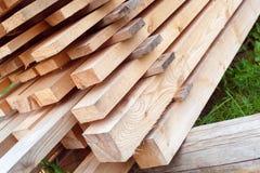 Ladrillos de madera Imagenes de archivo