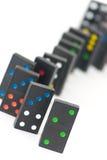 Ladrillos del dominó Imagen de archivo