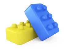 Ladrillos del juguete Imagen de archivo