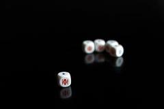 Ladrillos del póker Fotos de archivo libres de regalías