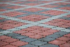 Ladrillos diagonales fotos de archivo libres de regalías