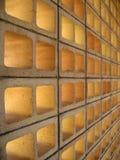 Ladrillos huecos foto de archivo