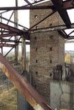 Ladrillos industriales Fotografía de archivo