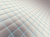 Ladrillos lisos cuadrados Fotografía de archivo