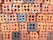 Ladrillos para la construcción Fotografía de archivo
