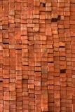 Ladrillos rojos Fotografía de archivo