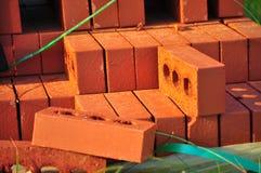 Ladrillos rojos Imagenes de archivo