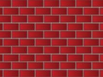 Ladrillos rojos imagen de archivo