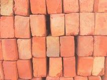 Ladrillos rojos Foto de archivo libre de regalías