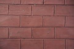 Ladrillos rojos calientes Foto de archivo