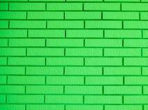 Ladrillos verdes hermosos Fotos de archivo