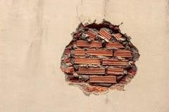 Ladrillos y pared Fotografía de archivo