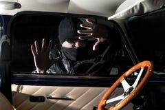 Ladrón de coches Fotos de archivo libres de regalías