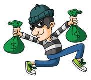 ladrão Imagens de Stock Royalty Free