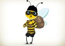 Ladro Bee Fotografia Stock Libera da Diritti
