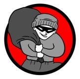 Ladro dell'icona Fotografia Stock Libera da Diritti