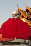 Ladro della statua al pratartlumpangluang di Wat, Lumpang Tailandia immagini stock libere da diritti