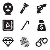 Ladro Icons Fotografie Stock Libere da Diritti