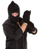 Ladrão irritado Imagens de Stock Royalty Free