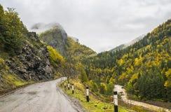 Ladscape de la montaña georgiana Imagen de archivo libre de regalías